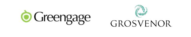 Greengage and Grosvenor logos
