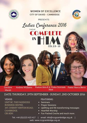 LADIES CONFERENCE IMAGE 1