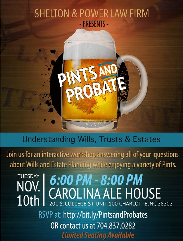 Pints and Probate
