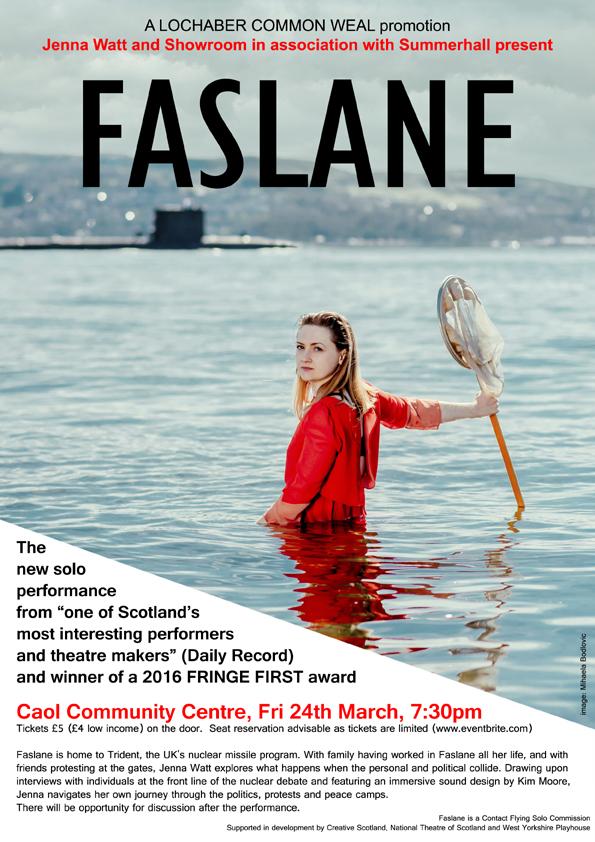 Faslane poster