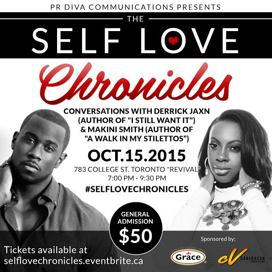 The Self Love Chronicles Event Flyer