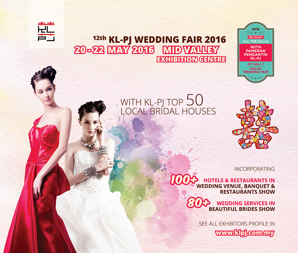 kl wedding expo Eventbrite - klpj events sdn bhd presents 18th klpj wedding fair  at mid  valley exhibition centre mid valley megamall, kuala lumpur,.