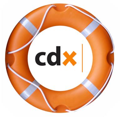 CDX life bout logo