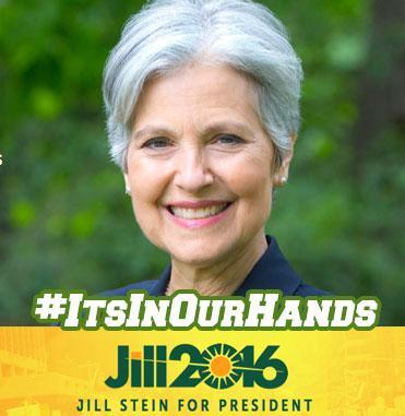 Jill Stein Green Party 2016