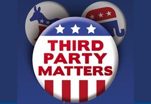 Third Parties Matter buttons