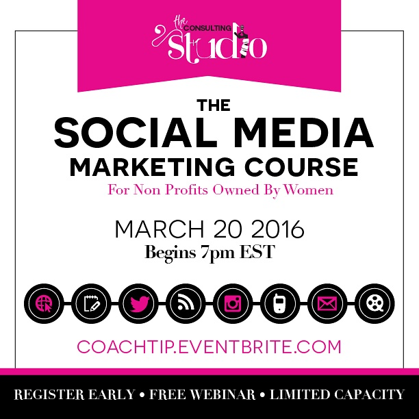 Tip Jones' Social Media Marketing Course for Nonprofits