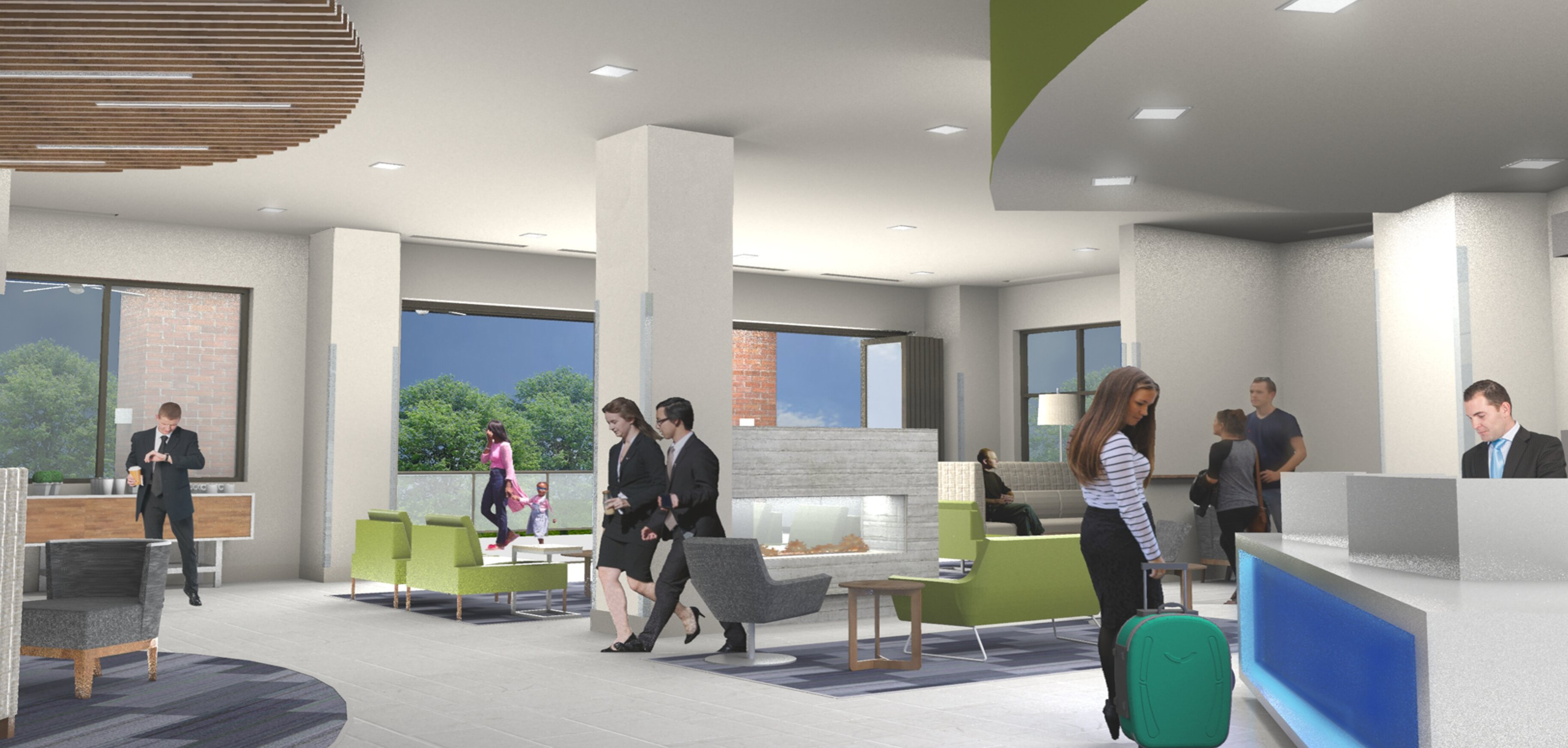 New Holiday Inn Express and Suites Charlotte Southend