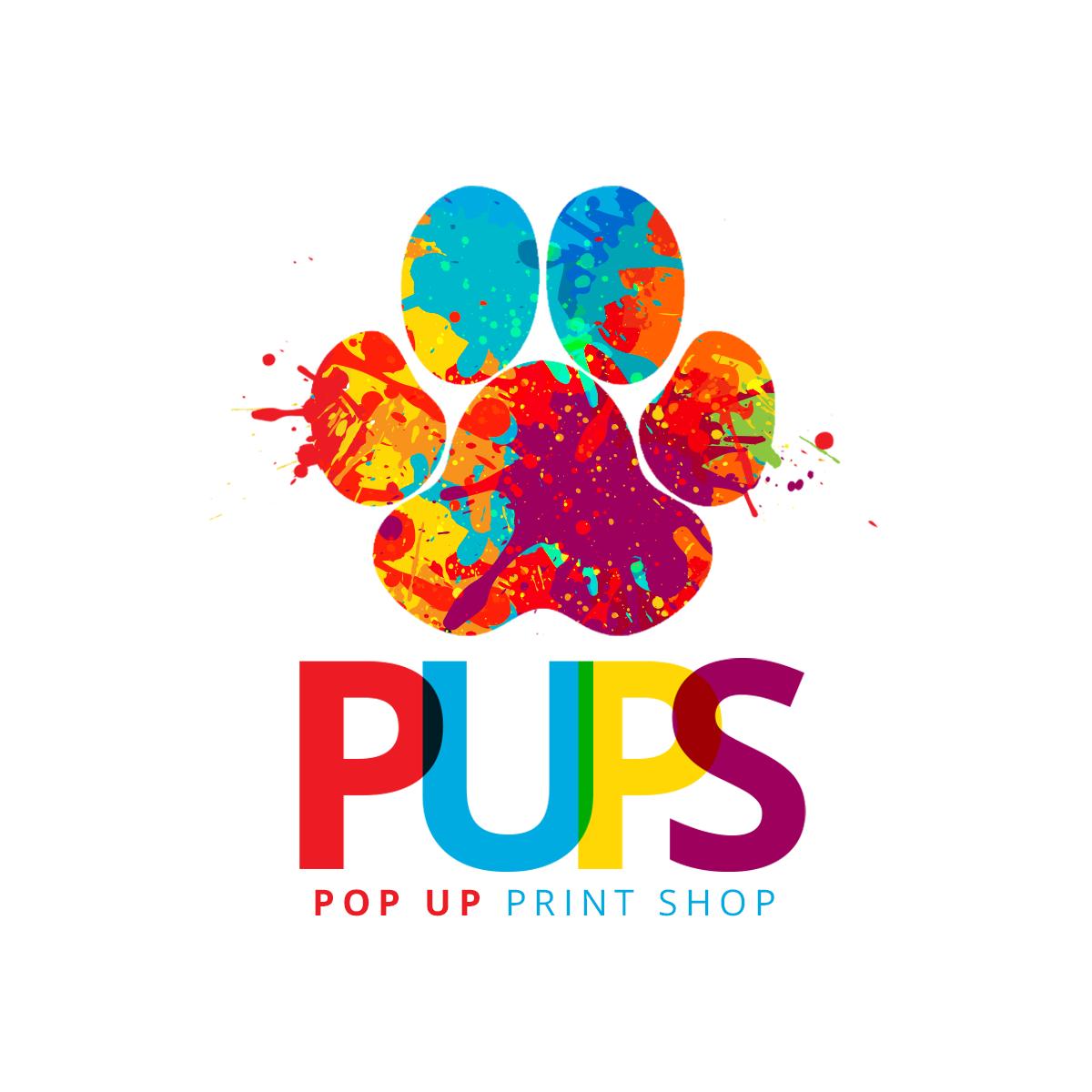 Pop Up Print Shop logo