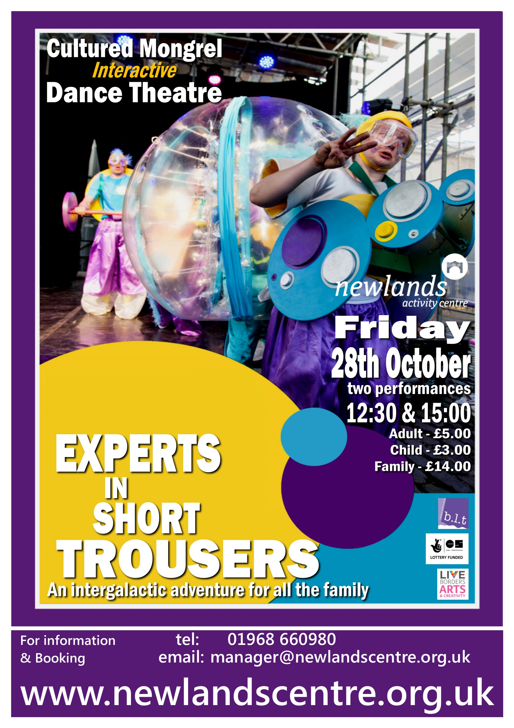 Experts with Short Trousers poster