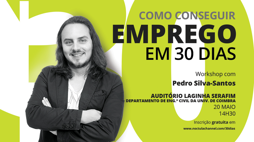 Como conseguir emprego em 30 dias Coimbra