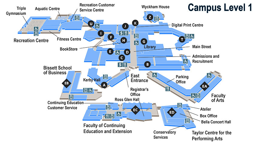 Mru Campus Map Mru Campus Map | compressportnederland Mru Campus Map