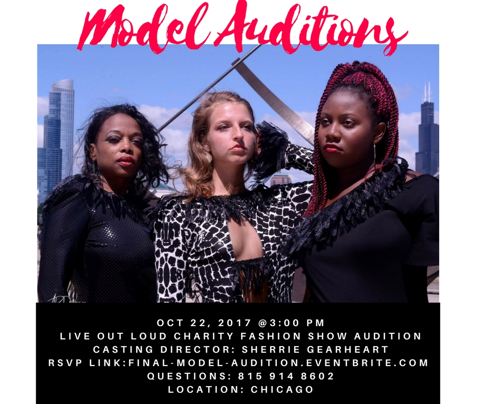 Model Auditions Live Out Loud Charity