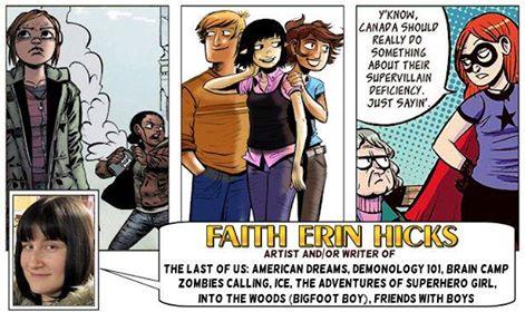 Faith Erin Hicks