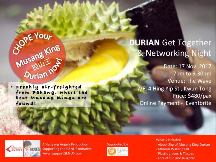 Durian Get Together Nov 17 2017