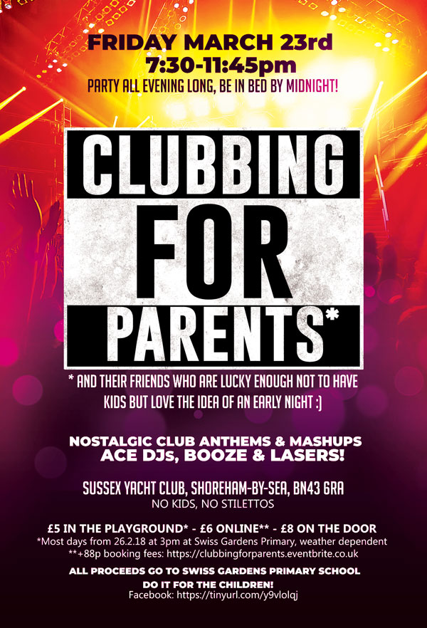 Clubbing for Parents - official poster