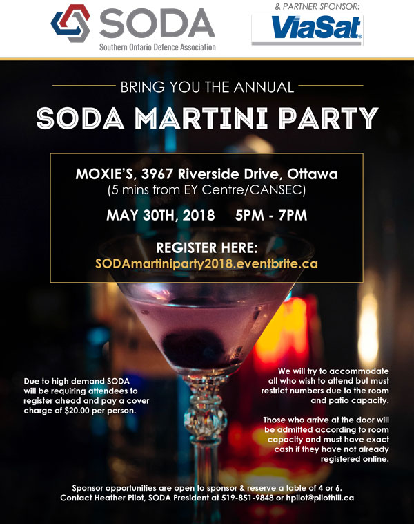 SODA Martini Party