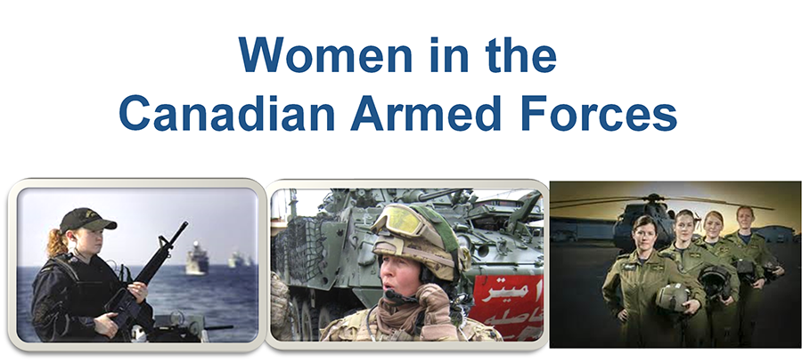 Women in theCanadian Armed Forces