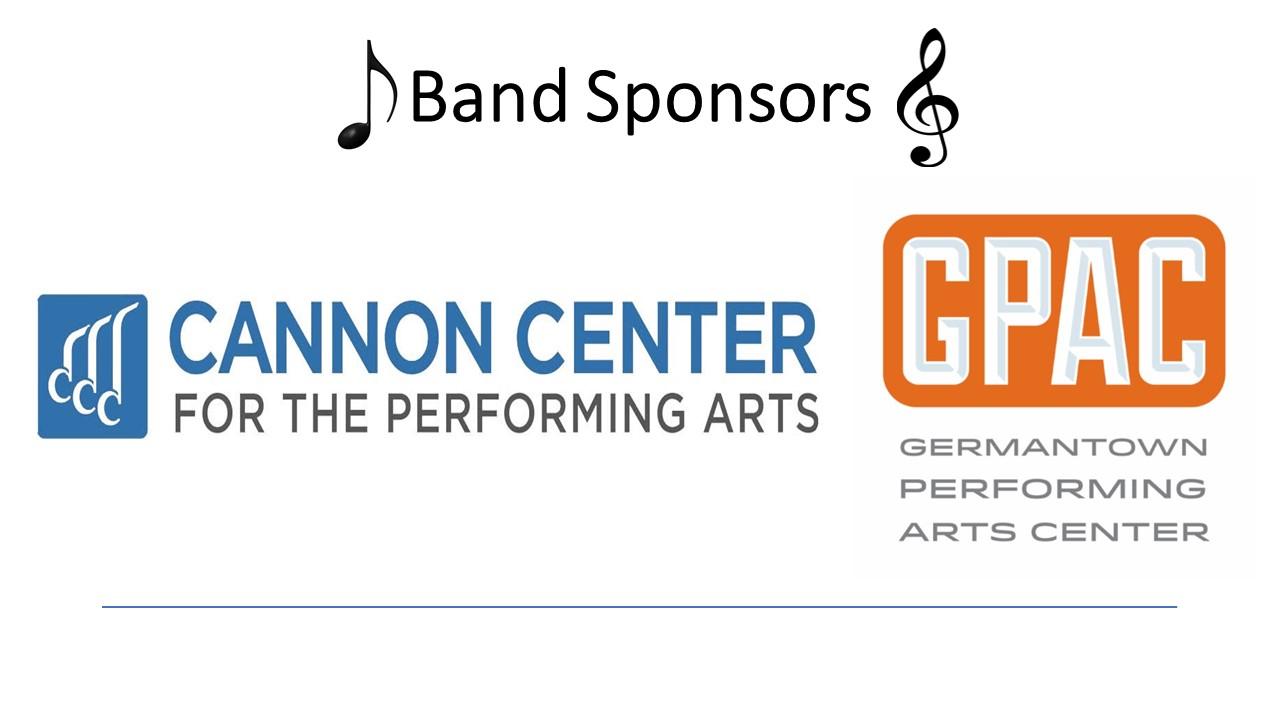 Band Sponsors 2018