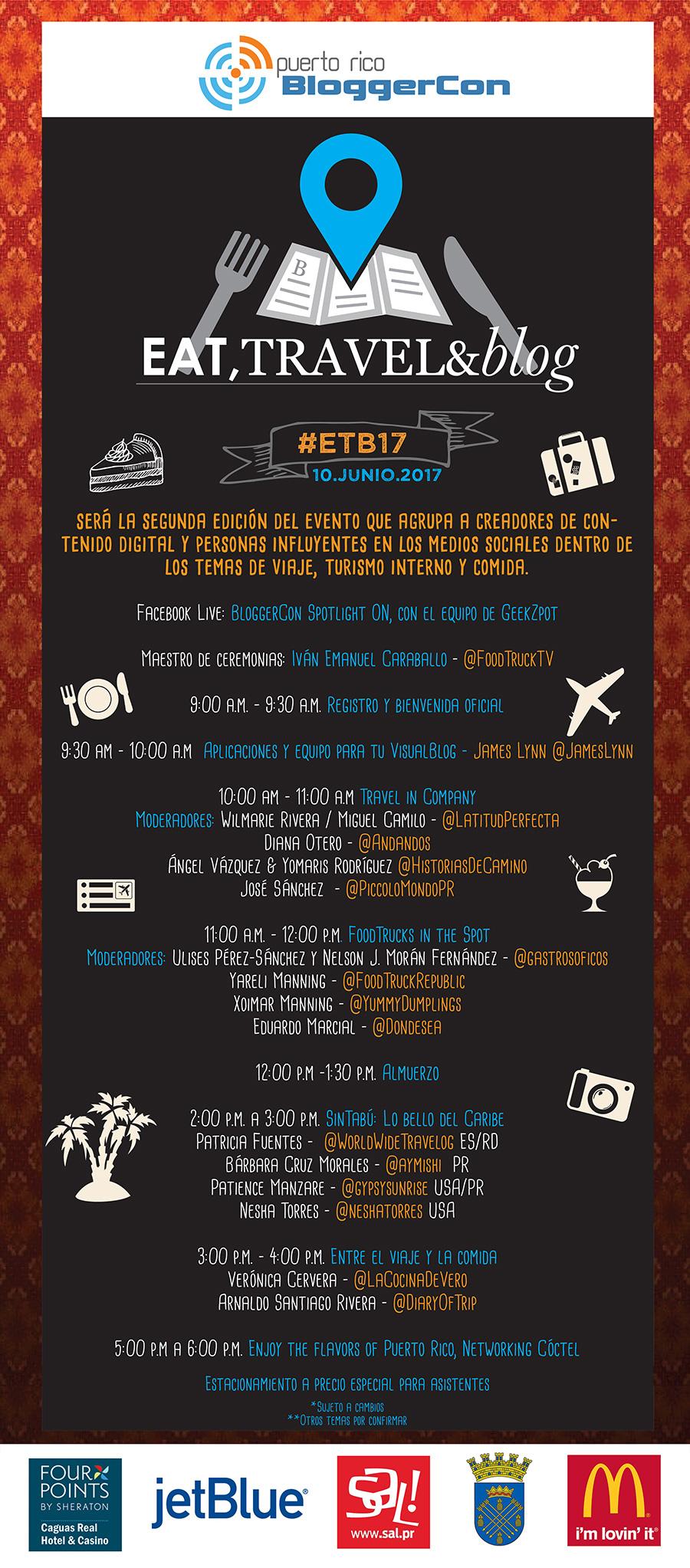 Itinerario #ETB17