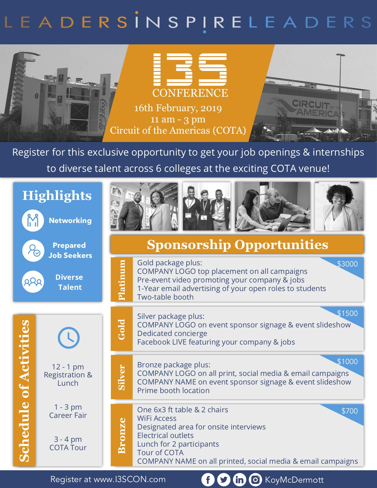 I3S Conference Sponsorship Packages