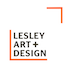 Lesley Art and Design logo