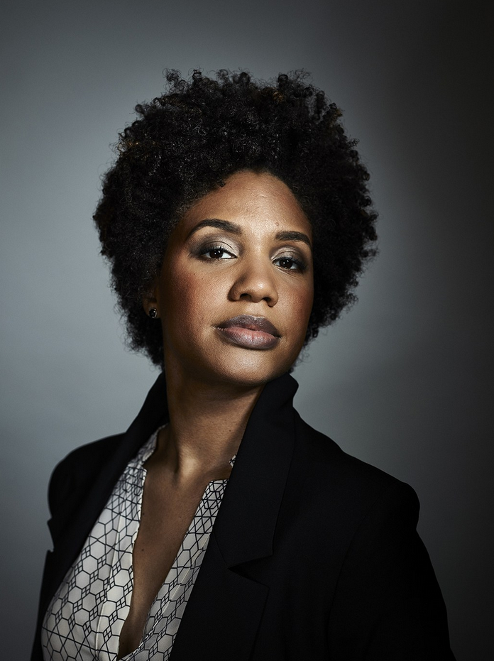 LaToya Ruby Frazier for TED 2015. Photo by Bret Hartman.