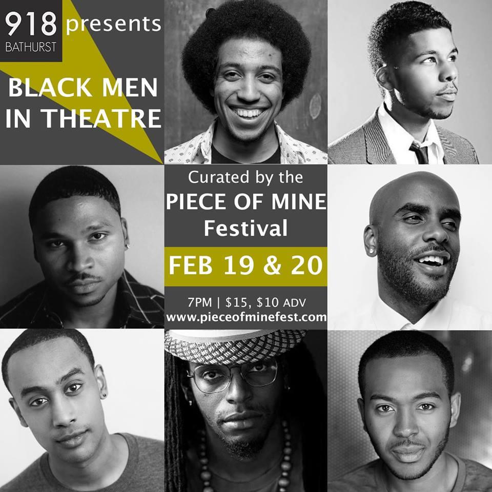 Black Men In Theatre