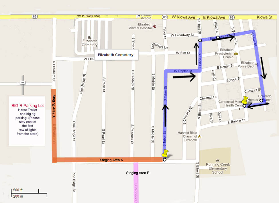 New Parade Route This Year