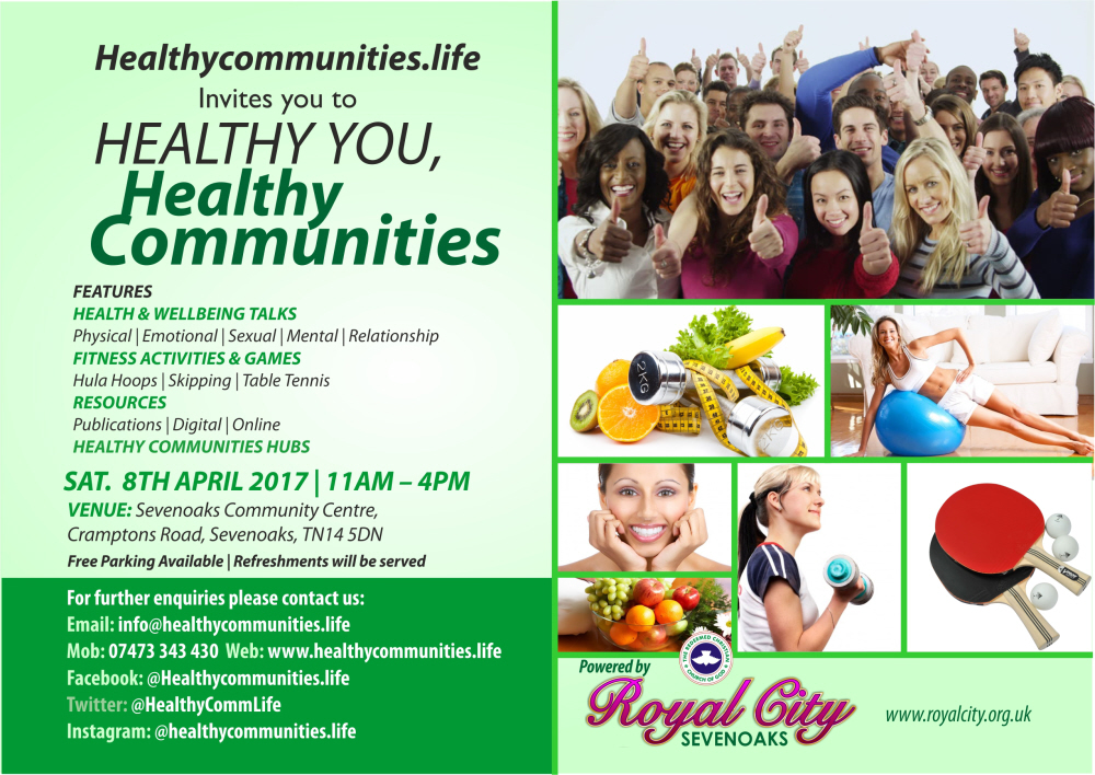 Healthy You, Healthy Communities