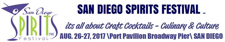 San Diego Spirits Festival Top Banner