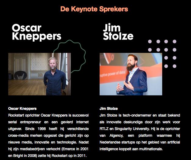 De Keynote Sprekers