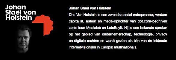 Johan Staël von Holstein