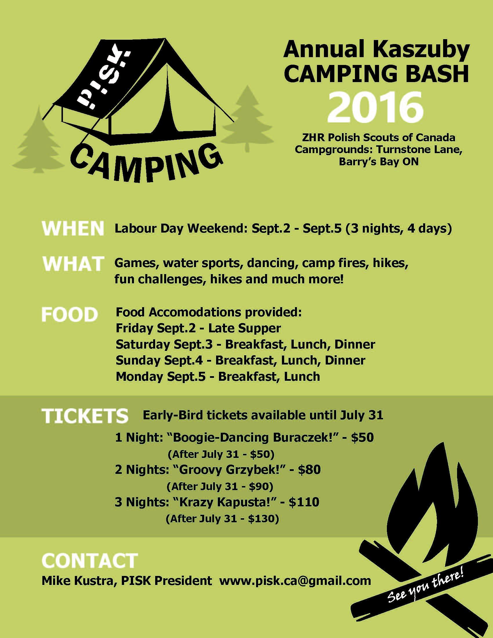 PISK Camping 2016