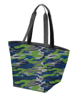 Camo Pattern Swag Bag