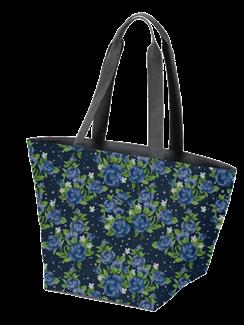 Floral Pattern Swag Bag