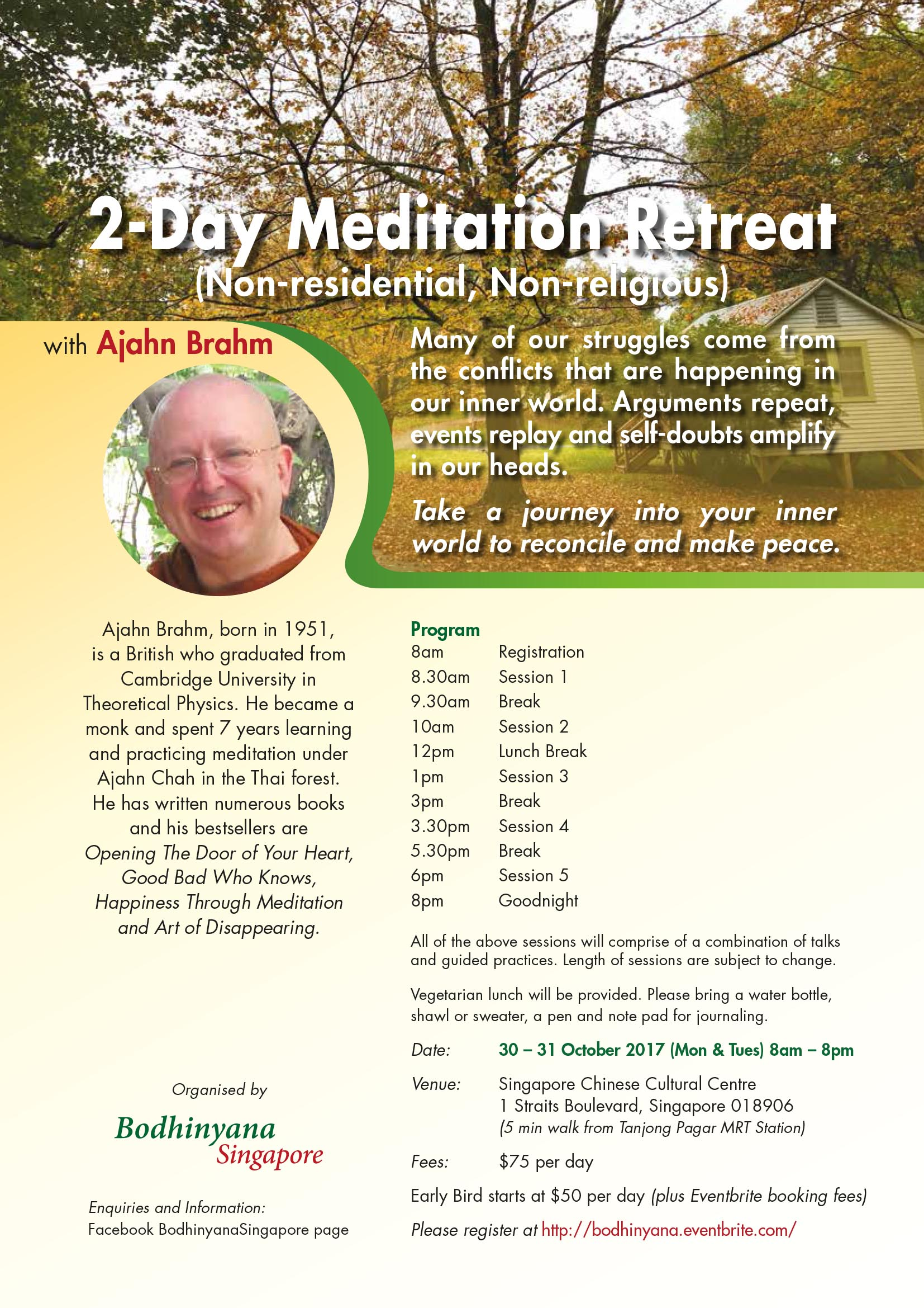 Meditation Retreat with Ajahn Brahm