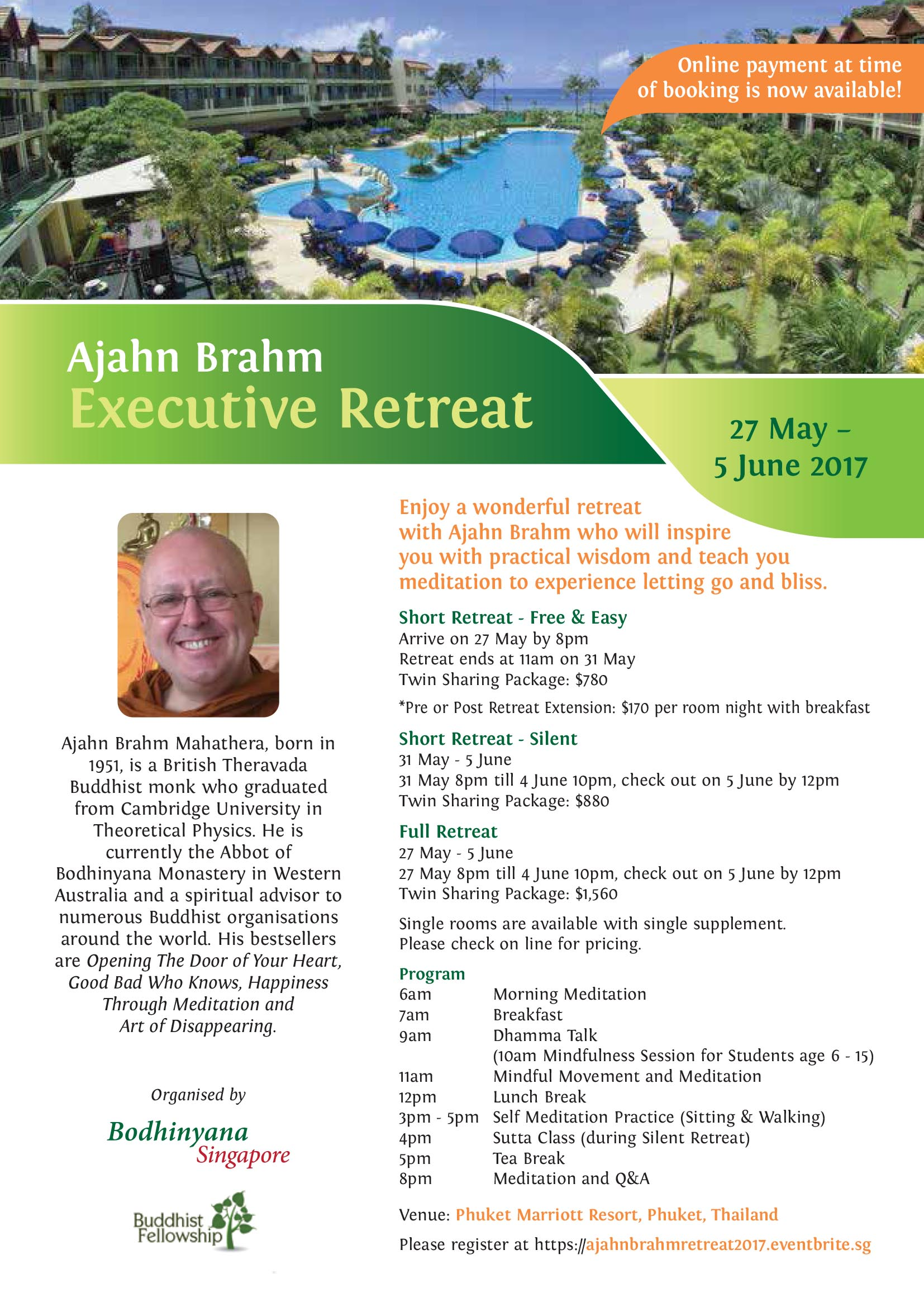 Ajahn Brahm Retreat