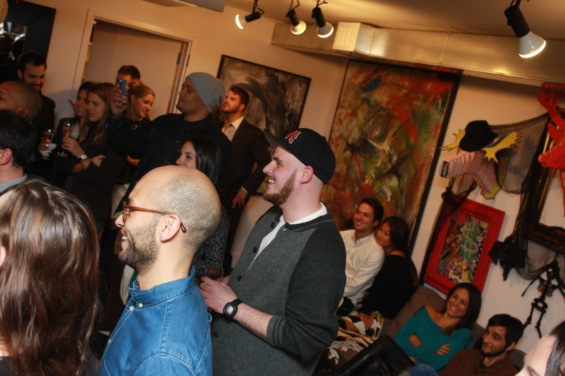 people having fun at Tribeca art factory