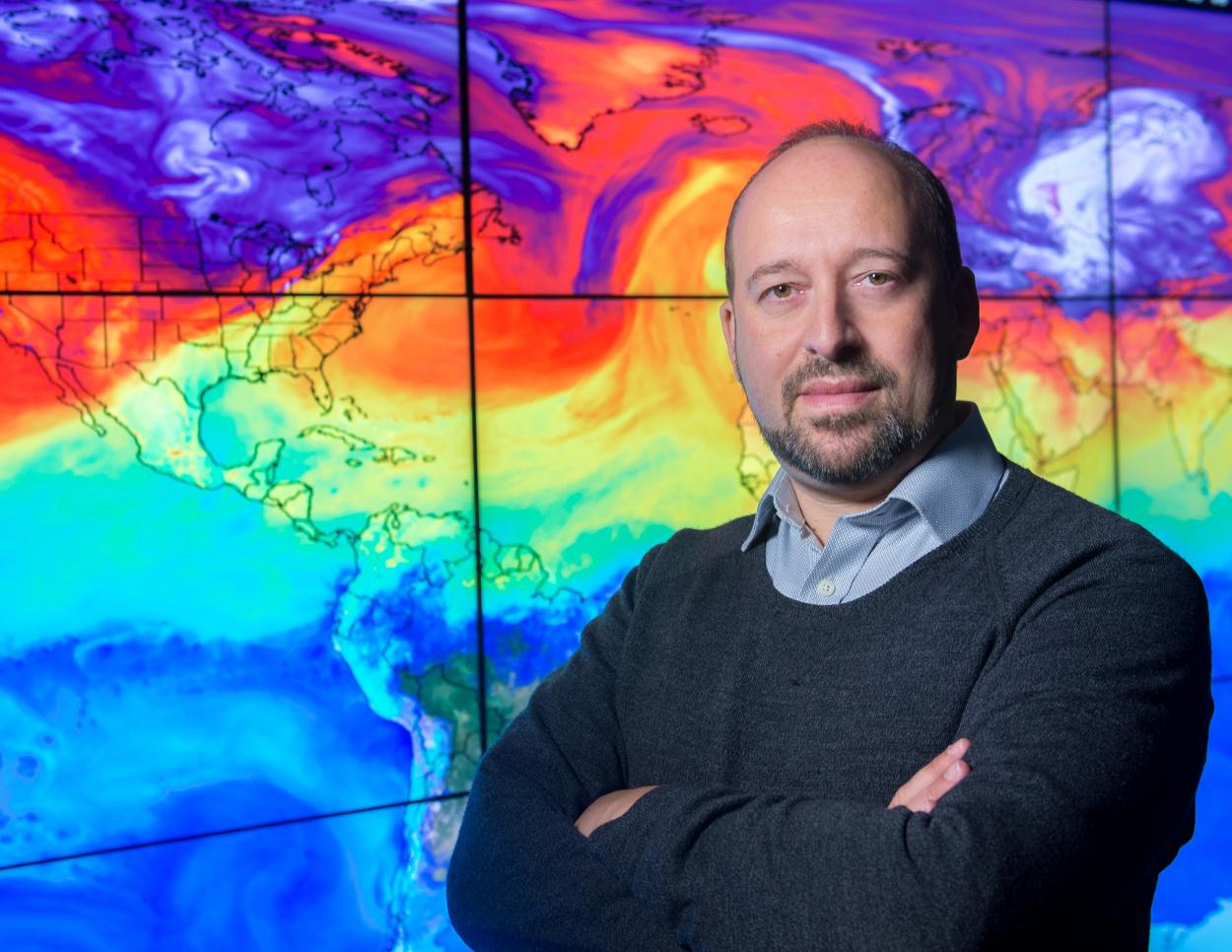 Photograph of Dr Gavin Schmidt