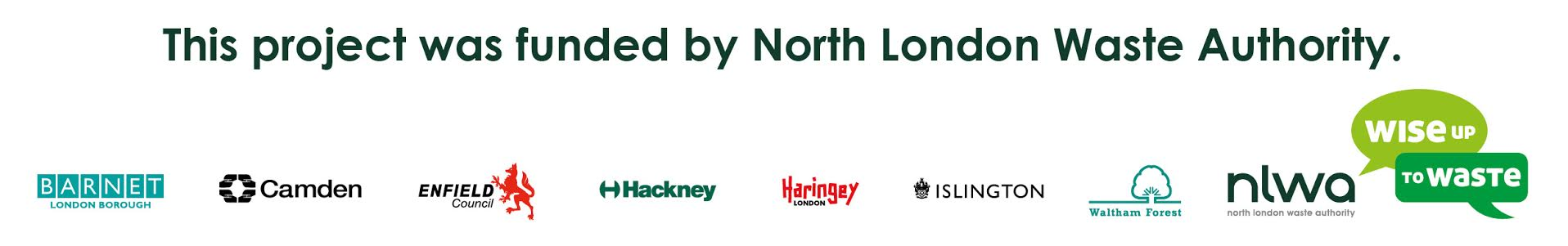 Funded by the North London Waste Authority