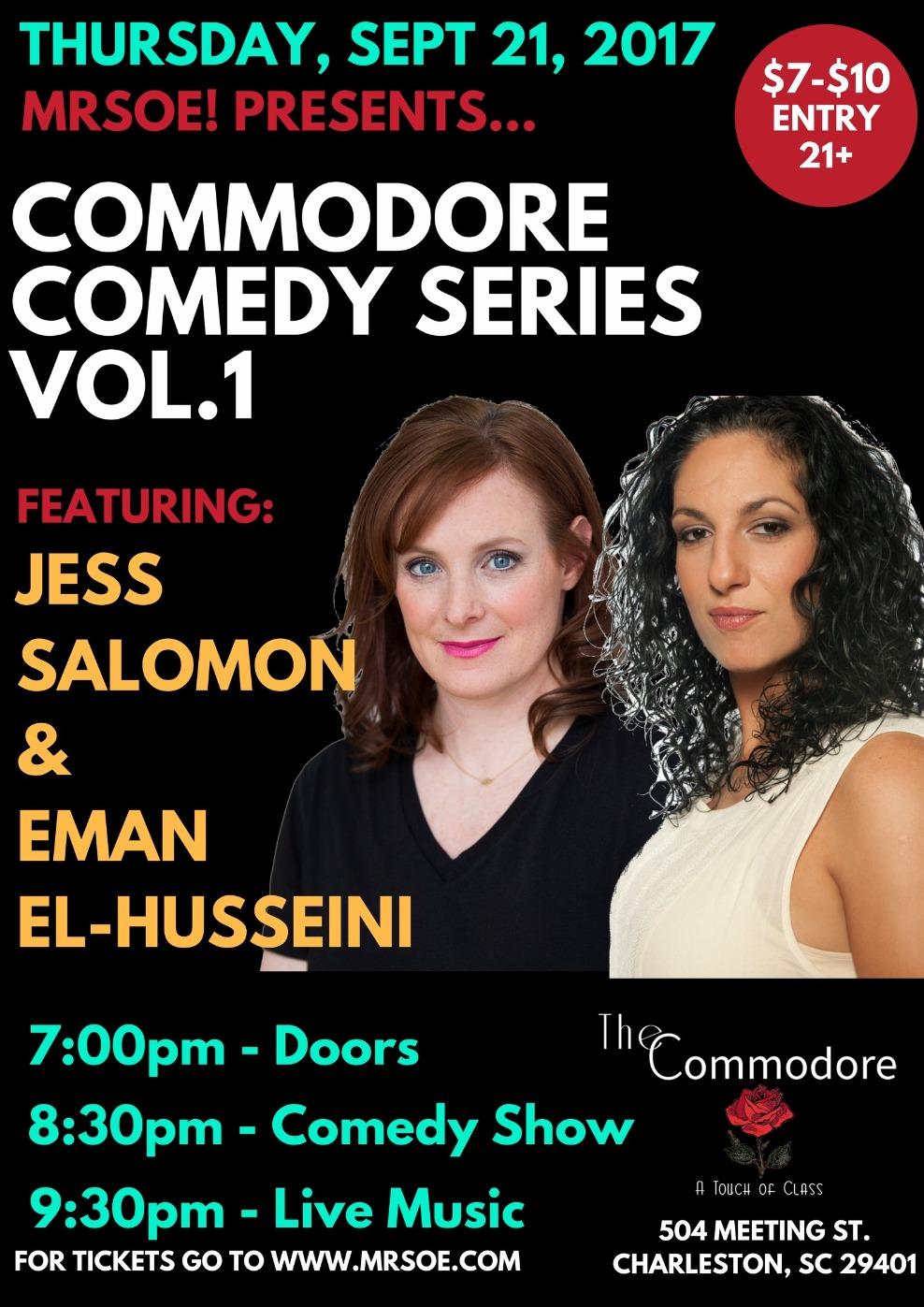 Commodore Comedy Series Vol 1