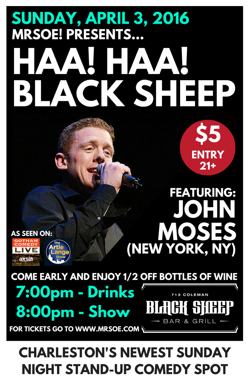 Haa! Haa! Black Sheep Presents...John Moses