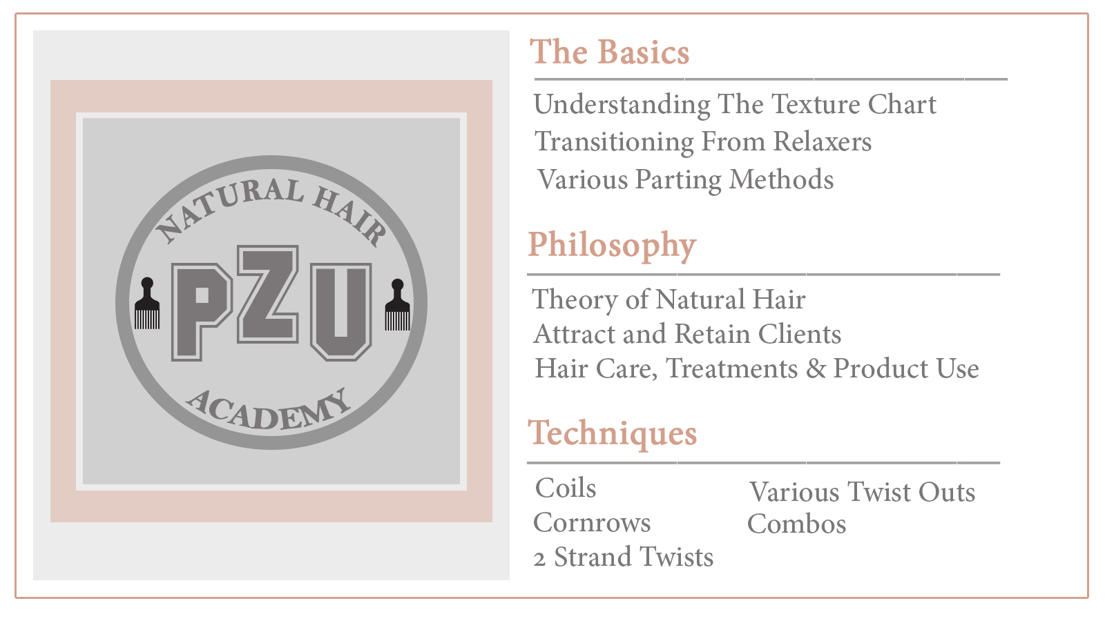 Natural Hair Academy