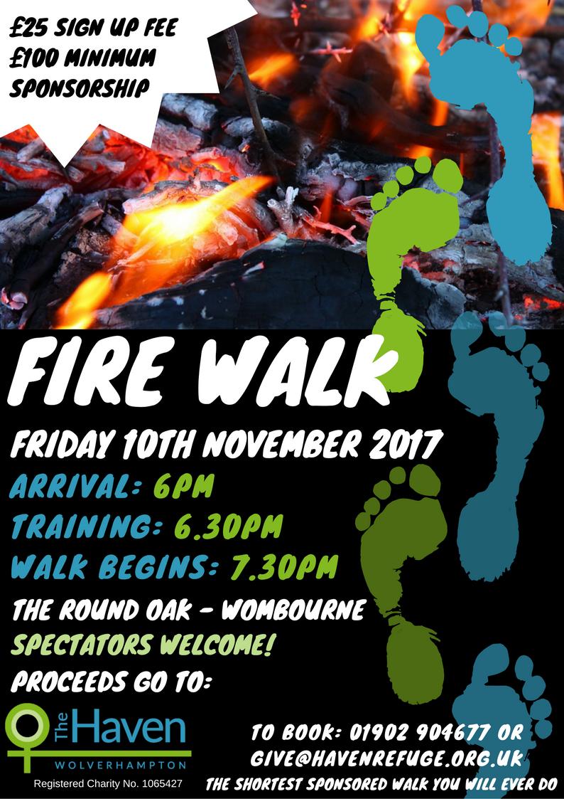 Fire Walk Poster
