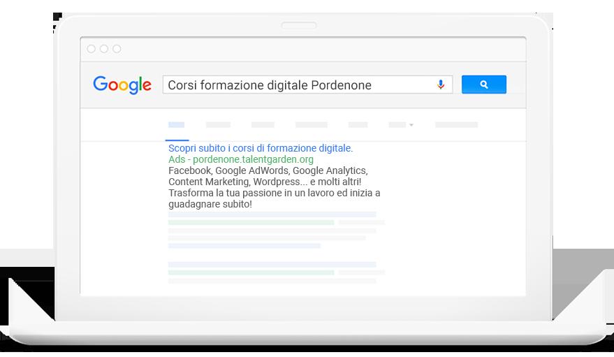 Google ADS workshop a Pordenone