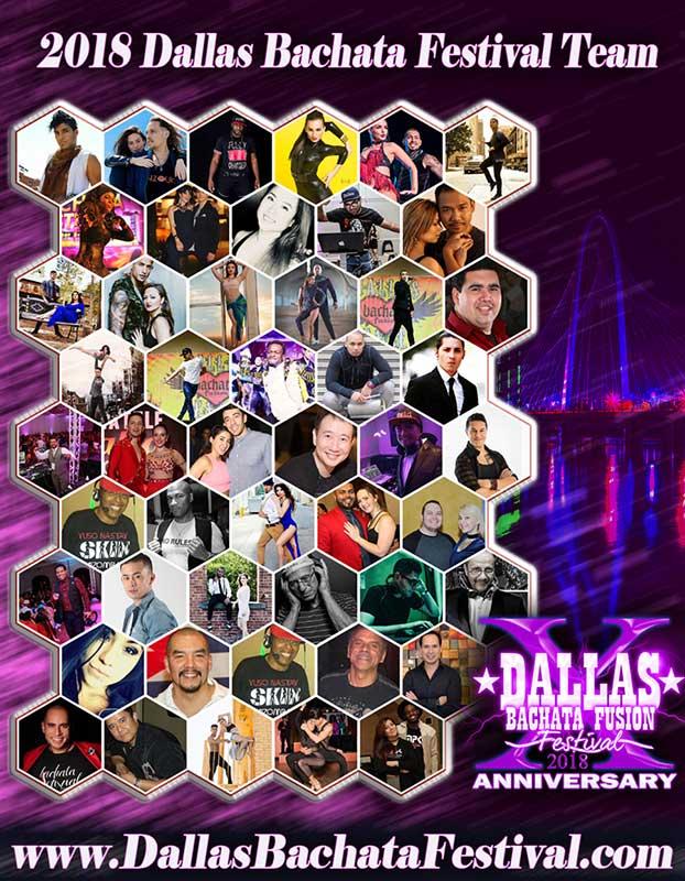 Dallas Bachata Festival 2018 Dance Instructors