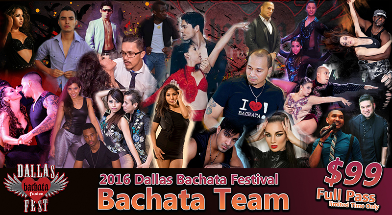 2016 Dallas Bachata Festival Bachata Artist