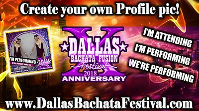 Dallas Bachata Festival Profile pic maker