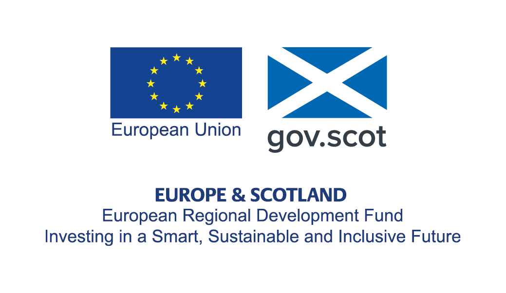 Funded by Scottish Government and European Regional Development Funds