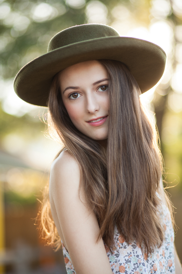 Natural light model test shoot by Hooton Images